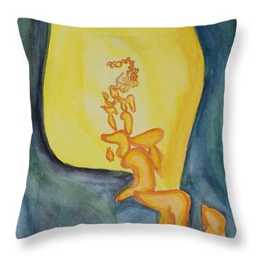 Emanation Throw Pillow