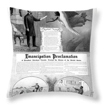 Emancipation Proclamation Throw Pillow