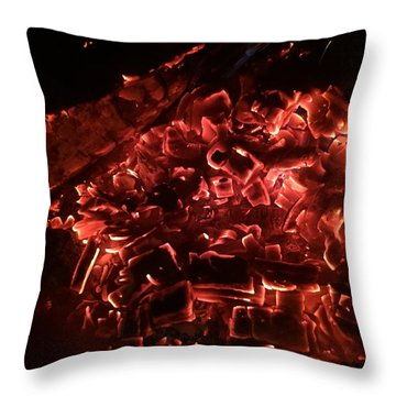 Embers On The Bay Throw Pillow