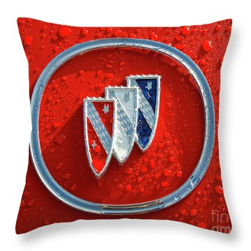 Throw Pillow featuring the photograph Emblem by Dennis Hedberg