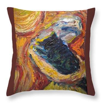 Embrace IIi Throw Pillow