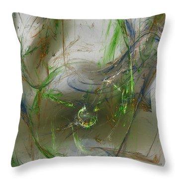 Embracing The Paradox Throw Pillow