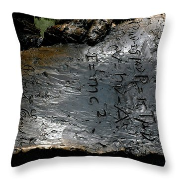 Emc2 Throw Pillow