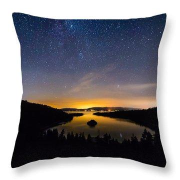Emerald Bay Throw Pillow