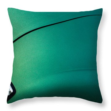 Emerald Frazer Throw Pillow