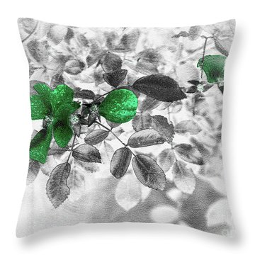 Emerald Green Of Ireland Throw Pillow