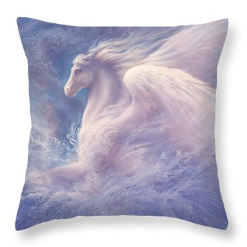 Emergence Throw Pillow by Jack Shalatain