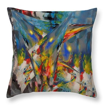 Emergence Of Colour Phase 3 Throw Pillow
