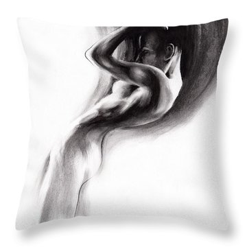 Emergent 1b Throw Pillow