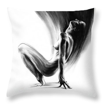 emergent II Throw Pillow