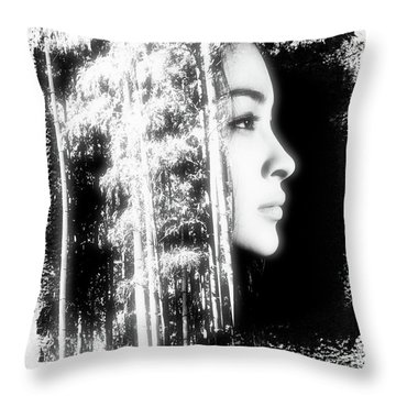 Emerging Throw Pillow by Chris Armytage