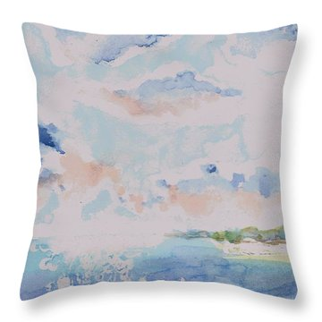 Emerging Sun 2 Throw Pillow
