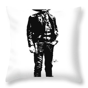 Emiliano Zapata Throw Pillow