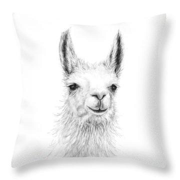 Llama Throw Pillows