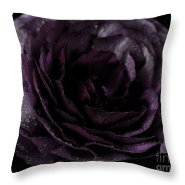 Emily's Great Ant Thingy Flower..... Throw Pillow