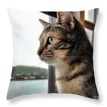 Emma Again Throw Pillow