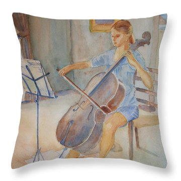 Emma And Clifford Throw Pillow
