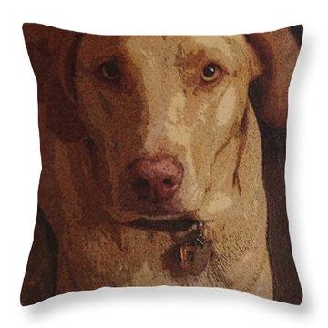 Emma Throw Pillow by Lori Kingston