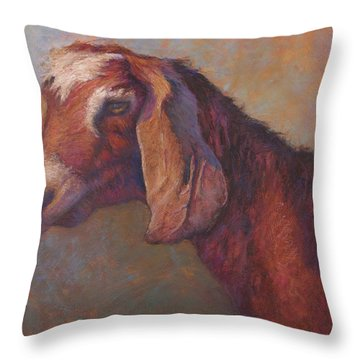Emma Sundara Throw Pillow by Susan Williamson