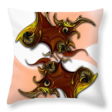 Emotion Vs Emotion Throw Pillow