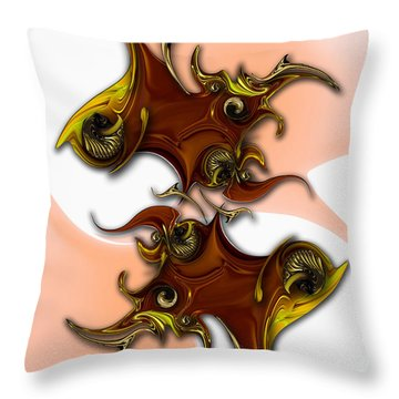 Emotion Vs Emotion Throw Pillow