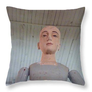 Emotional Escrow Throw Pillow