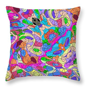 Emotions 1007 Throw Pillow