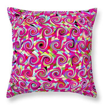 Emotions 318 Throw Pillow