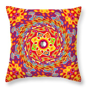 Emotions 416 Throw Pillow