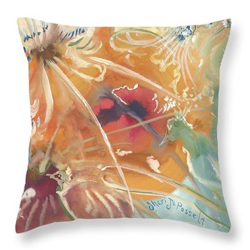 Emotions Of A Bird Throw Pillow