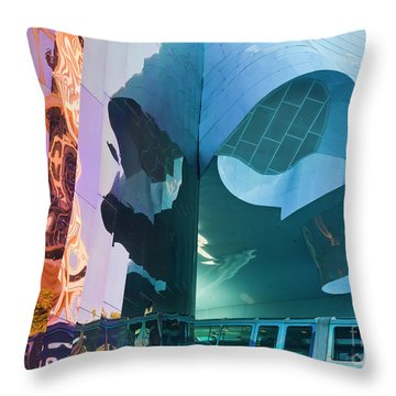 Throw Pillow featuring the photograph Emp Psychadelic by Chris Dutton