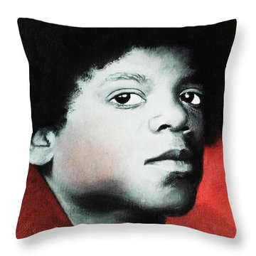 Empassioned Throw Pillow