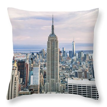 Emperor's Castle Throw Pillow