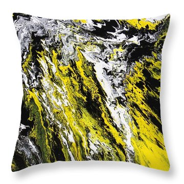 Emphasis Throw Pillow by Ralph White
