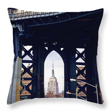 Empire Framed Throw Pillow