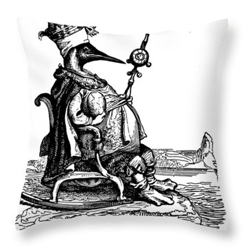 Empire Penguin Grandville Transparent Background Throw Pillow