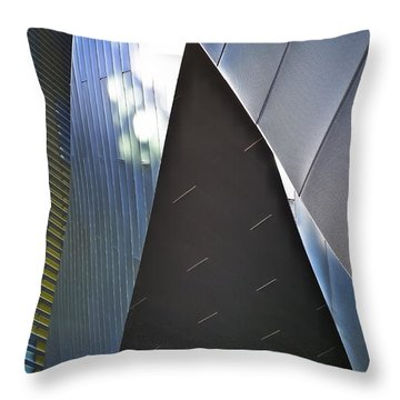 Empire Throw Pillow by Skip Hunt