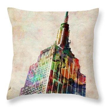 Central Park Throw Pillows