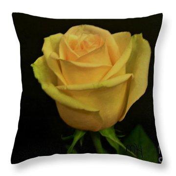 Throw Pillow featuring the photograph Empress Rose by Marsha Heiken