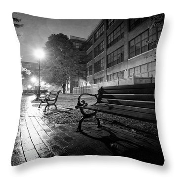 Throw Pillow featuring the photograph Emptiness by Everet Regal