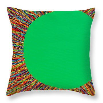 Empty Cup 1 Throw Pillow by Kyung Hee Hogg