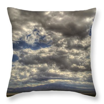 Empty Land Throw Pillow