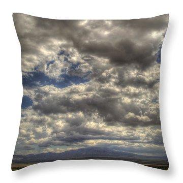 Empty Land Throw Pillow