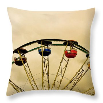 Empty Seats Throw Pillow