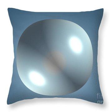 Empyty Logotype Throw Pillow
