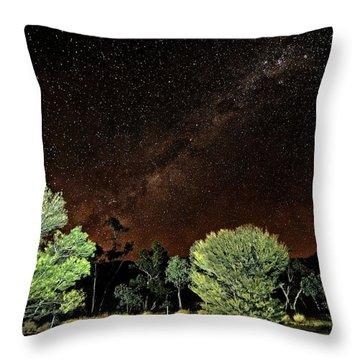 Emu Rising Throw Pillow by Paul Svensen