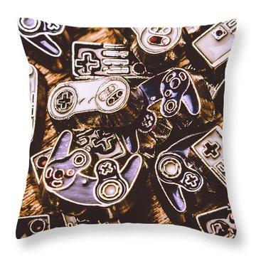 Emulating The Classics Throw Pillow
