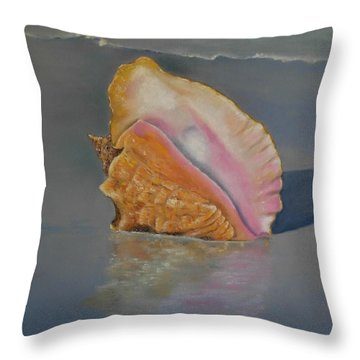 en memoria de Alfonsina Storni Throw Pillow