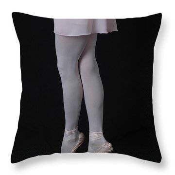 Throw Pillow featuring the photograph Childhood Dance by Nancy Taylor