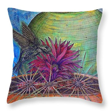 En Route Throw Pillow